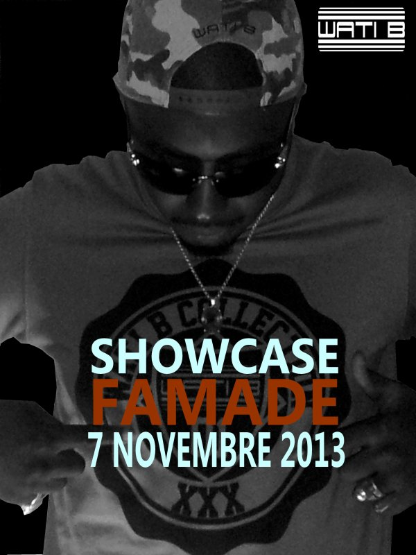FAMADE EN SHOWCASE AU TRIBAR CLUB.