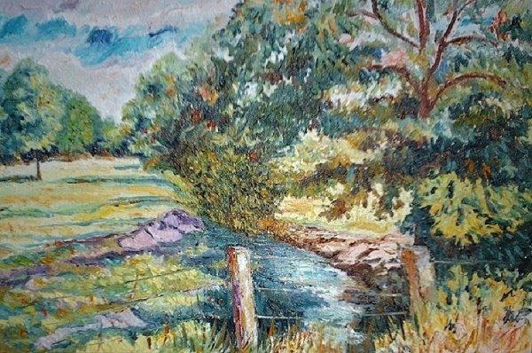 De Lahaimeix à Woimbey - Le ruisseau de Saint Germain