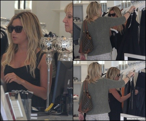 13.03.2013 - Ashley a été vu faisant du shopping !