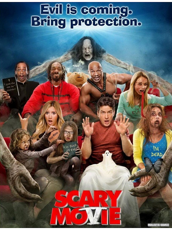 Scary Movie 5 - Affiche officielle du film.