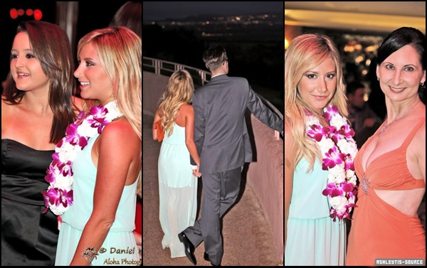 FlashBack - De nouvelles photos d' Ashley et Chris à la soirée Mayor's Kokua Ball viennent de sortir.