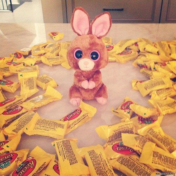 31.03.2013 - Ashley Tisdale Instagram : Joyeuses Pâques à tous !