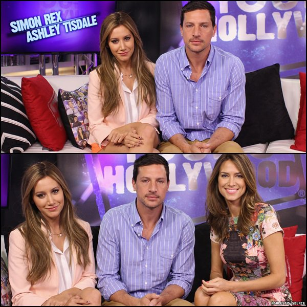 04.04.2013 - Ashley et son co-star Simon Rex ont été interviewés par Nikki Novak pour Young Hollywood.