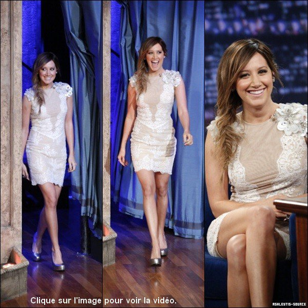 "10.04.2013 - Ashley dans l'émission ""Late Night With Jimmy Fallon""."
