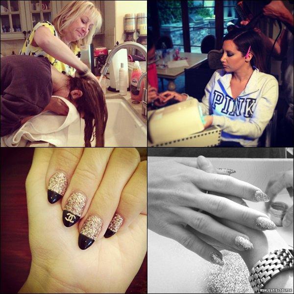 11.04.2013 - Photos d'instagram et vidéos de la première.