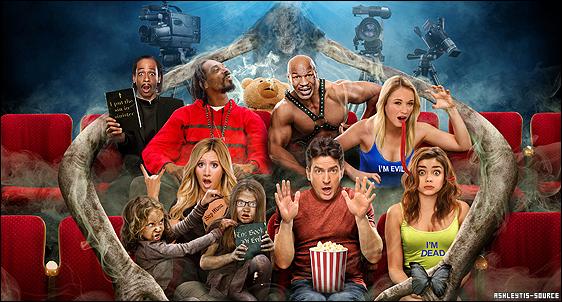 """Scary Movie 5, les résultats du Box Office !Bonne nouvelle pour le film et pour l'équipe, Scary Movie 5 s'est placé 2ème au box office ce week-end, avec 15.2 millions de dollars en recettes.  Et les critiques pour Ashley sont plutôt bonnes : Via Los Angeles Times: """"Elle gagne nos applaudissements"""""""