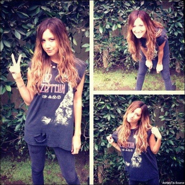 16.04.2013 - Ashley et Maui dans Hollywood pour une journée chargée.