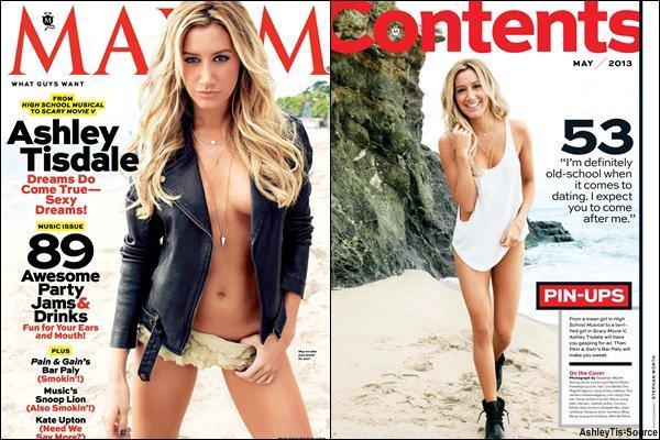 Découvrez les scans du magazine « Maxim » du mois de Mai.