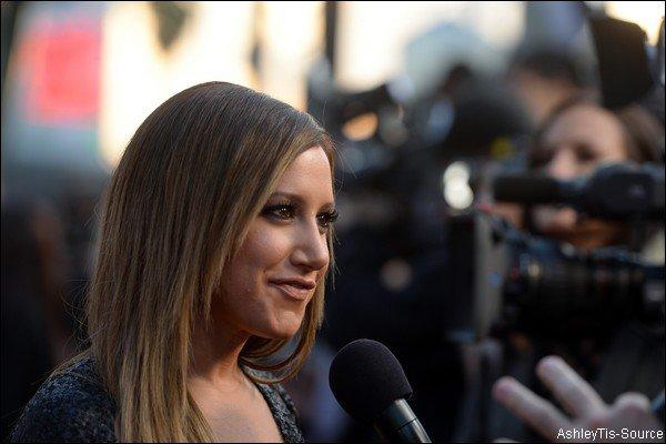 Interview d'Ashley lors de la première de Scary Movie 5. Elle y parle de sa carrière de chanteuse.