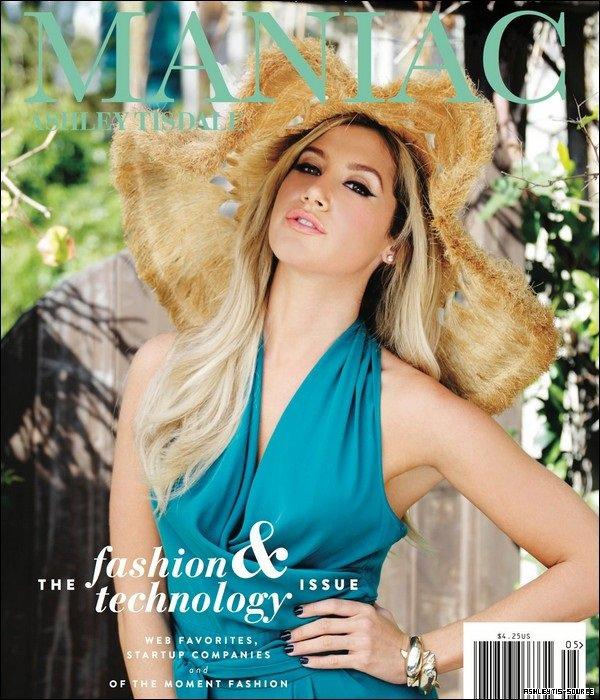 Découvrez les scans du magazine Maniac de mai/juin dont Ashley fait la couverture.