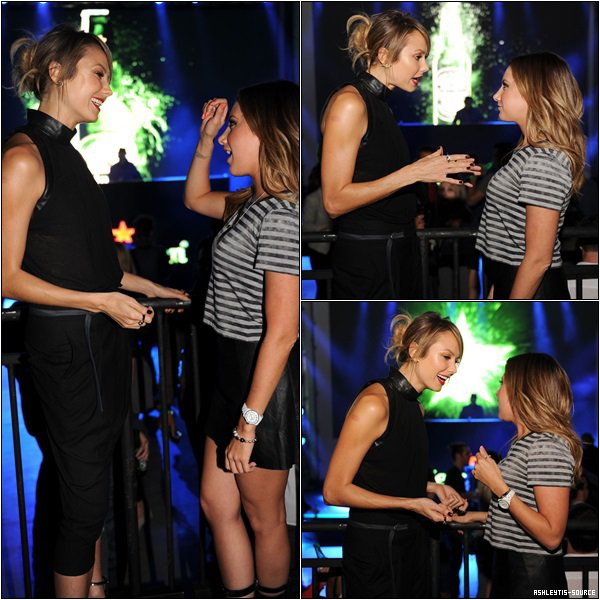 09.05.2013 - Ashley a assisté à l'événement Heineken Star Bottles à New-York.
