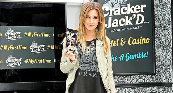 Lors de son dernier passage à New-York en mai dernier, Ashley a fait plusieurs interviews.
