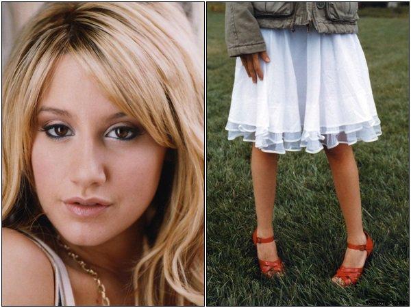 """(Re)Découvrez un photoshoot d'Ashley datant de 2006 réalisé par Andrew Southam. Si je fais ce genre d'article, c'est qu'il n'y a pas de news dans son actualité !"""""""