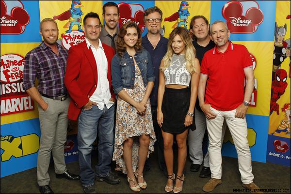 25.07.2013 - Ashley se rendant dans les studios de Warner Bros à Los Angeles, pour un casting !Ashley a auditionné pour le rôle de Jenny dans la série Two and a Half Men qui apparaîtra dans la nouvelle saison !