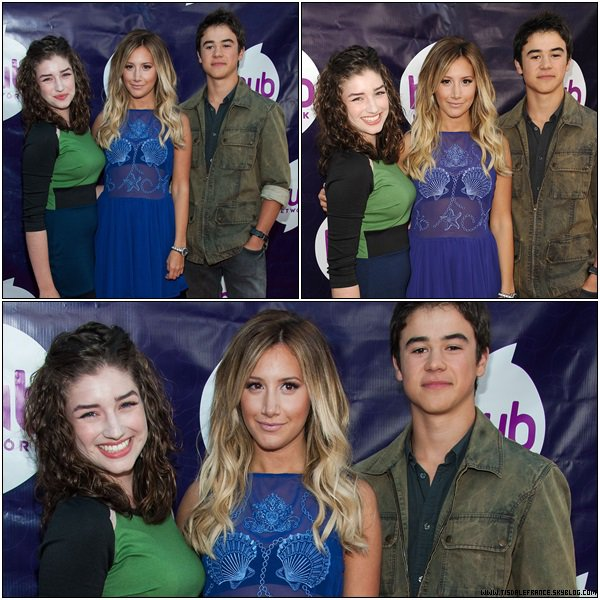 26.07.2013 - Ashley a assisté au The Hub Network's 2013 Summer TCA à Universal City. The Hub est la chaine qui diffusera le dessin animé Sabrina: Secrets of a Teenage Witch pour lequel Ashley prête sa voix.