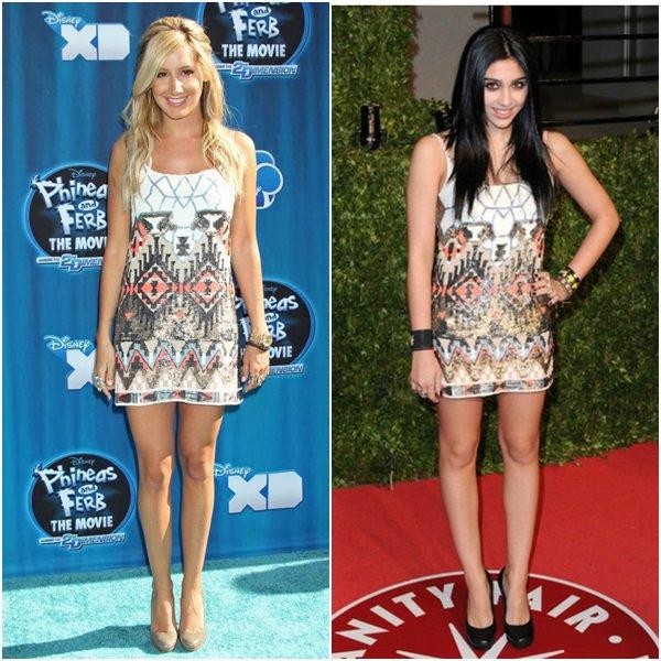 Quand les stars portent la même tenue... A vous de voter !