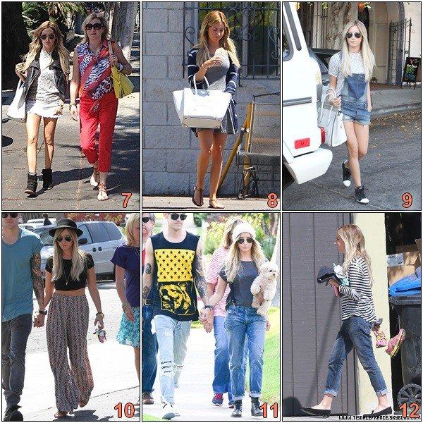 Choisissiez votre tenue préférée du mois d'Aout !
