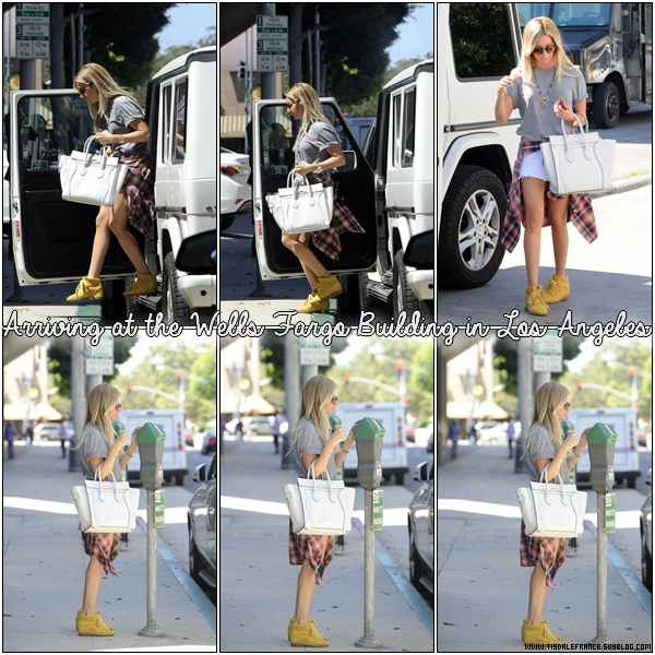 06.09.2013 - Ashley quittant un cours de pilate à Studio City.