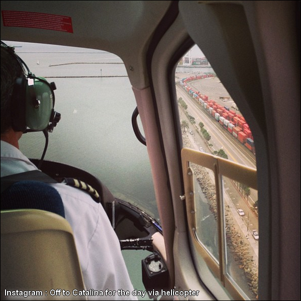 21.09.2013 - Ashley a passé sa journée sur l'île de Catalina avec Christopher. Elle s'y est rendue en hélicoptère !