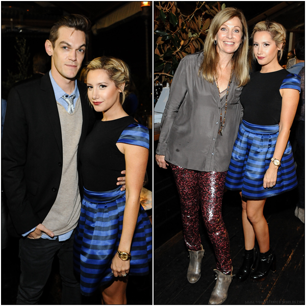 24.09.2013 - Ashley et Christopher assistant à la soirée de lancement de Emily & Meritt For PBteen dans West Hollywood.