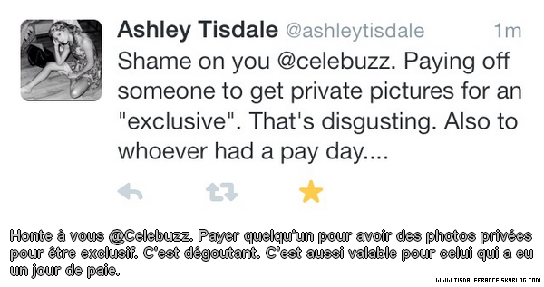 x Ashley Tisdale VS Celebuzz !