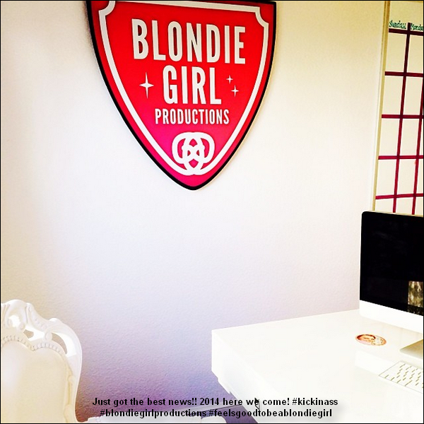 Congrats Blondie Girl Productions !