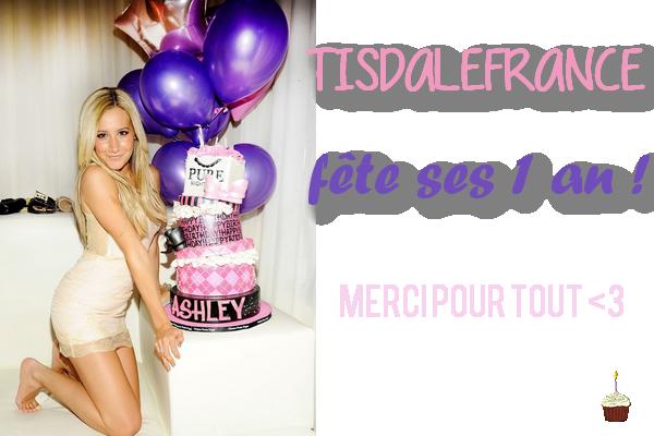 TisdaleFrance fête ses 1 an !