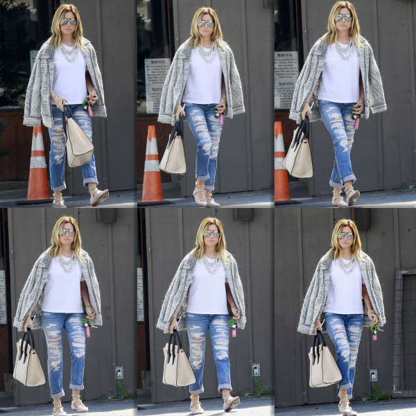 Ashley est de retour à Los Angeles !