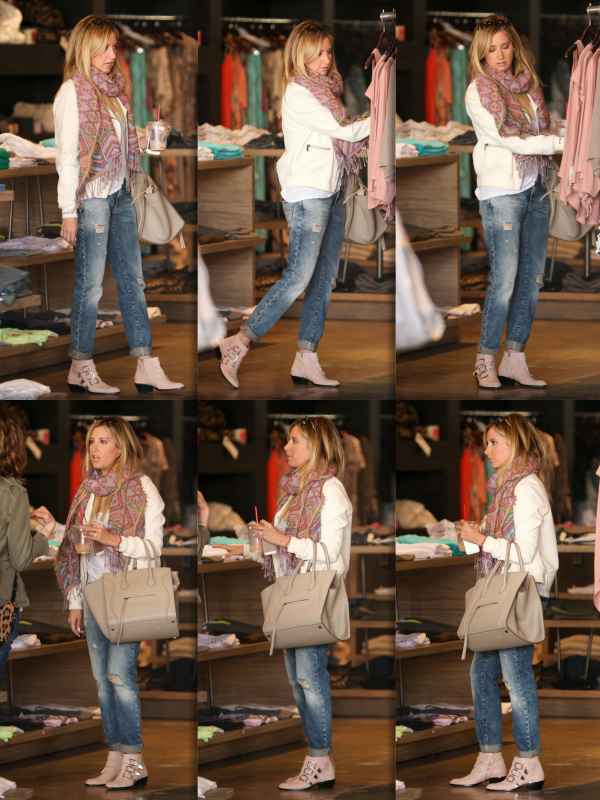 _03.04.2014_ • Ashley faisant du shopping au magasin Planet Blue à Beverly Hills