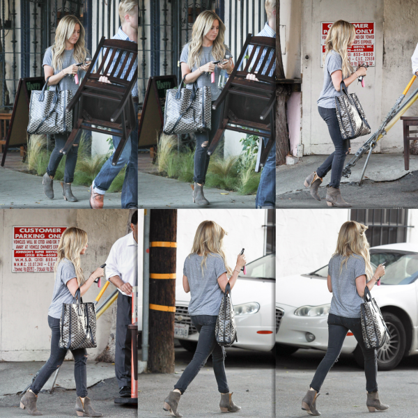 _11.04.0214_ • Ashley quittant le salon de coiffure Nine Zero One à West Hollywood