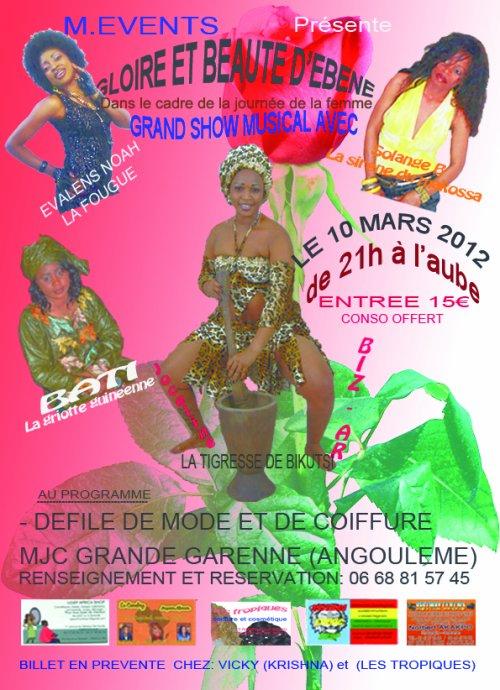 Show Evalens NOAH Angoulème