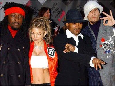 Les Black Eyed Peas en bande dessinée !!