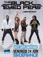 Black Eyed Peas : TOURNEE EN FRANCE EN 2011 !!! :D