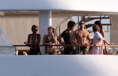Fergie en vacances sur un yacht !
