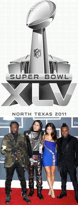 Super Bowl 2011 en musique avec les Black Eyed Peas !