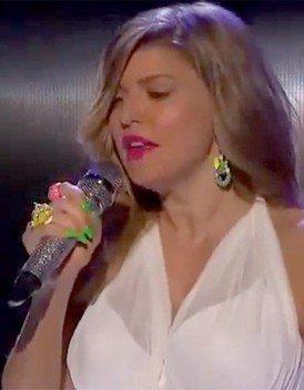 Fergie : le bouche qui fâche !