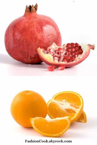 Verrines orange-grenadeRecette plaisirRecette n°2
