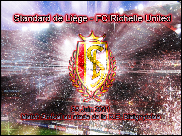 1er Amical : Standard de Liège - FC Richelle United