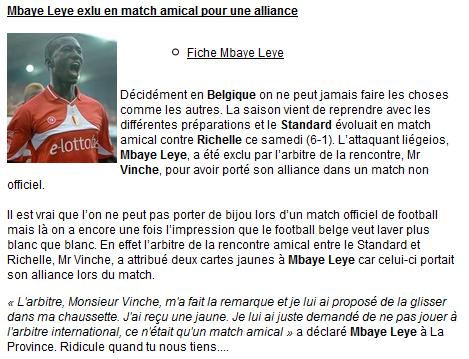 Le football belge est... ridicule à tous les étages !