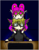 Valdézia & Blacky (Chibi)