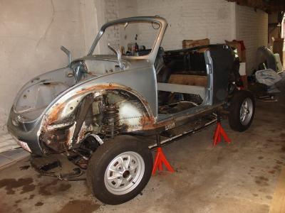 coccinelle cabriolet restaurer