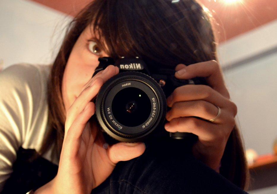 - Un jour, je serais photographe et je ferais ce que je veux de ce que je vois.