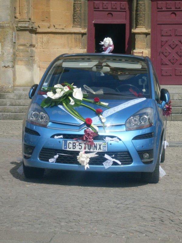 la voiture des marié