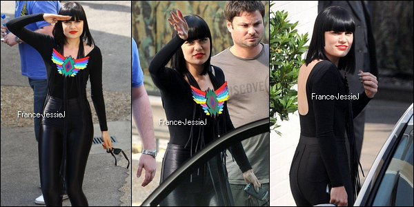 2 juin 2011: Jessie J arrivant sur le plateau de Britain's Got Talent + le live de 'Mama Knows The Best'
