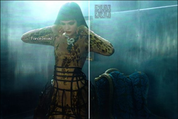 SHOOT: Jessie J dans Vogue Italie.