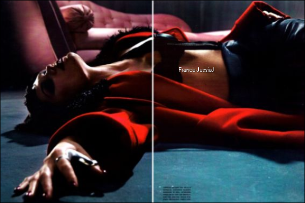 SHOOT: Jessie J dans Vogue Italie.