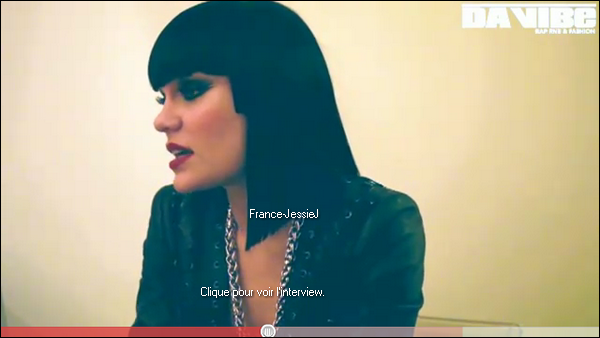 Interview: Jessie pour le magazine français 'Da Vibe'.  5 juin 2011: Jessie invitée à l'émision 'Schlag Den Raab' pour chanter 'Price Tag' en Allemagne (Cologne) où elle a rencontrée Avril Lavigne dans les coulisses.
