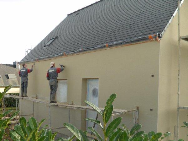 26 janvier 2012 le cr pi est termin notre maison mikit dans le morbihan. Black Bedroom Furniture Sets. Home Design Ideas