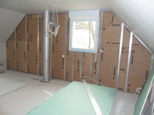 isolation pignon maison. Black Bedroom Furniture Sets. Home Design Ideas