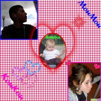 mon KouKou et Sandra et Moi